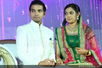 samvritha sunil marriage reception (1)
