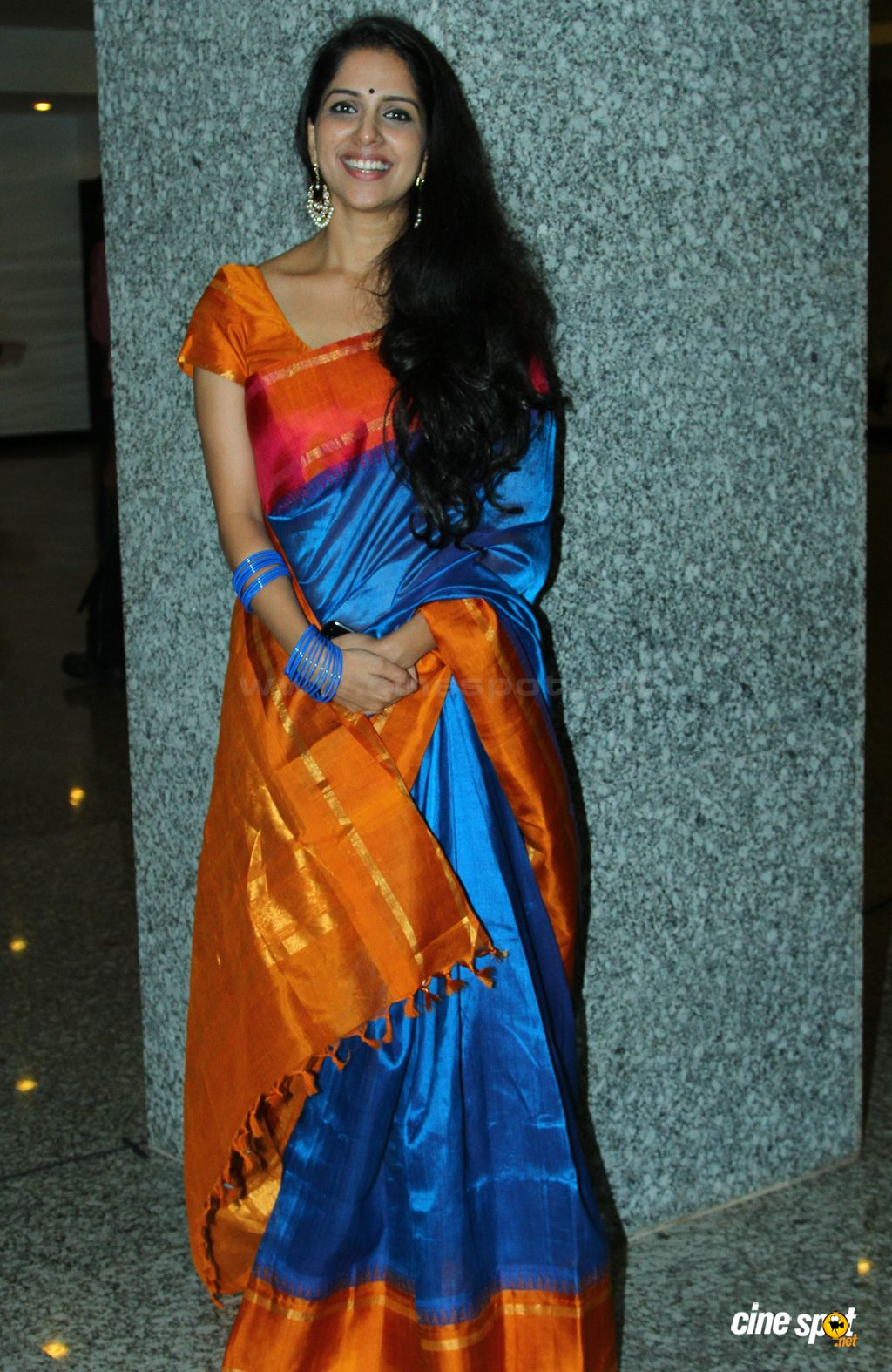 Aparna Nair Saree Photos (1)