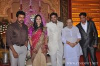 Mirchi Shiva Marriage Reception photos