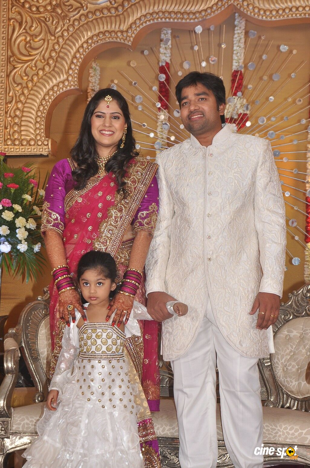 Mirchi Actor Shiva marriage reception (20)