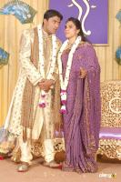 Tv Actress Aishwarya Marriage Reception Photos (62)