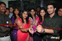 Swathi & Nikhil launches Naturals Family Salon n Spa Photos