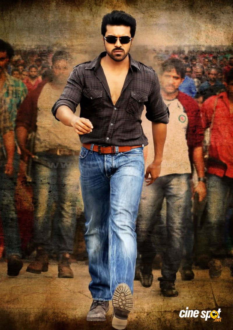 Ram Charan Photos In Nayak 5