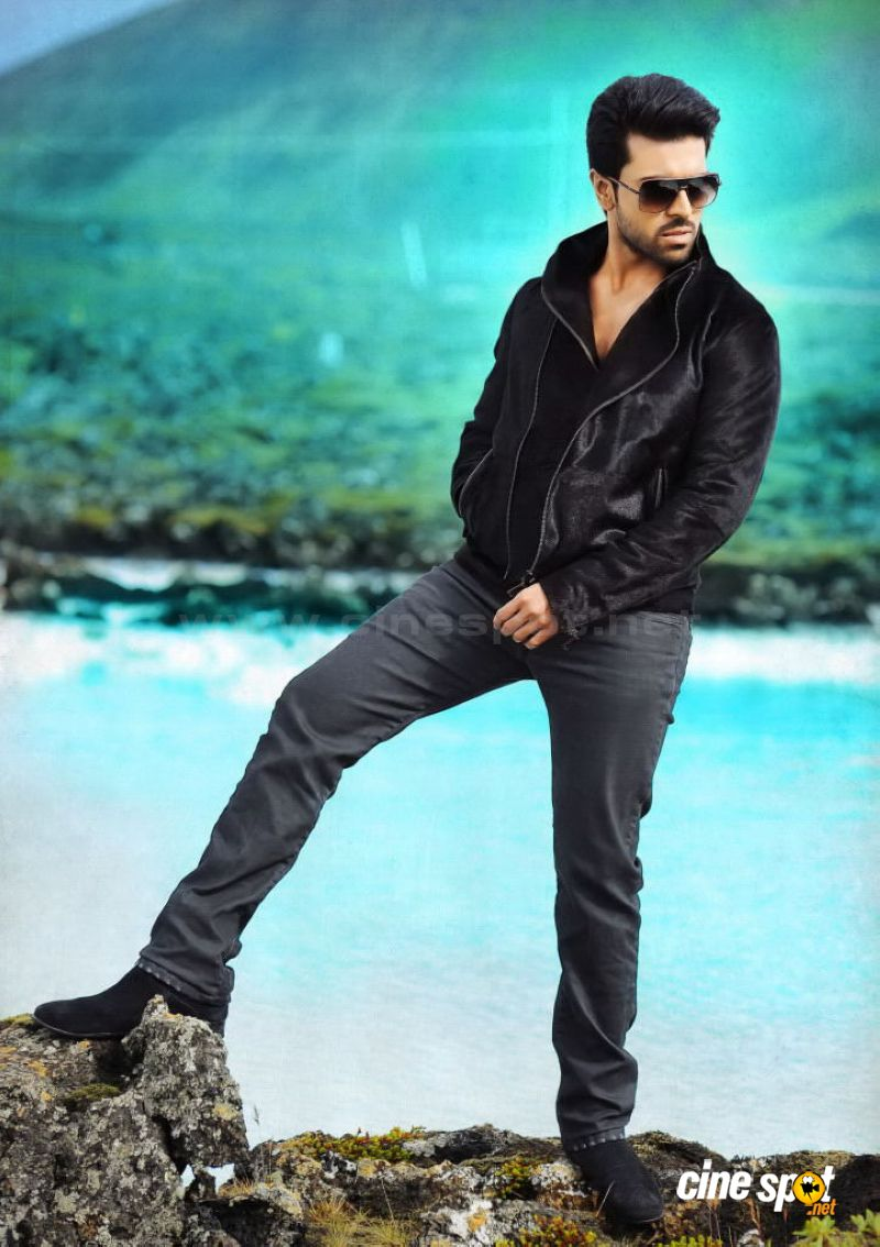 Ram Charan Photos In Nayak 6