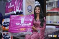 Haasika Launches Sleepwell New Shop Stills