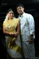 TV anchor Veena Nair marriage photos