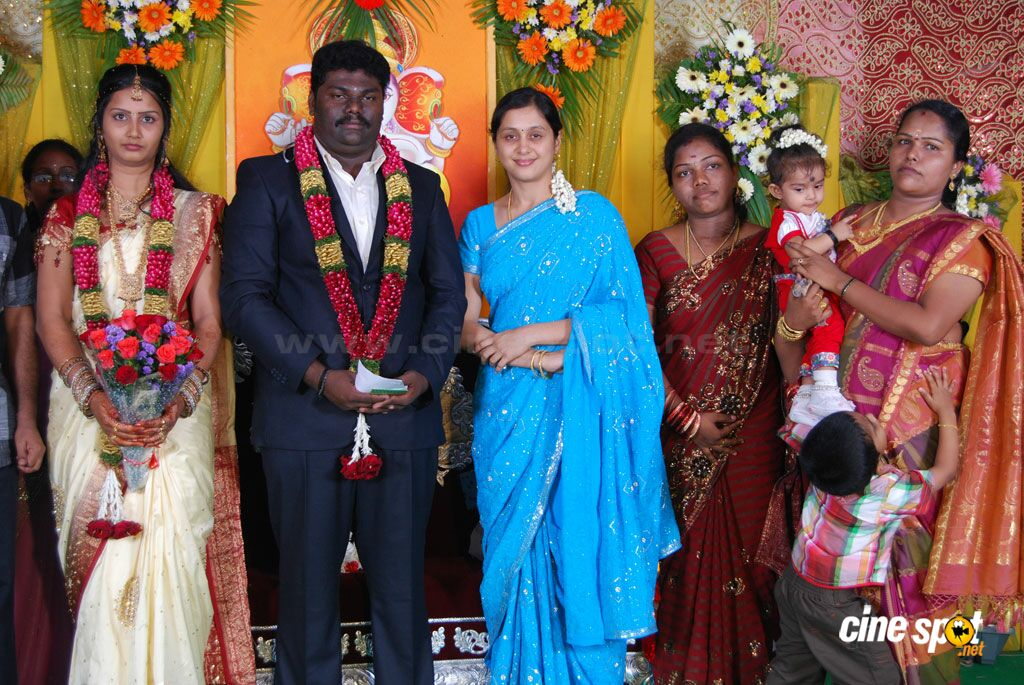 Kottai Perumal Son Wedding Reception Stills (11)
