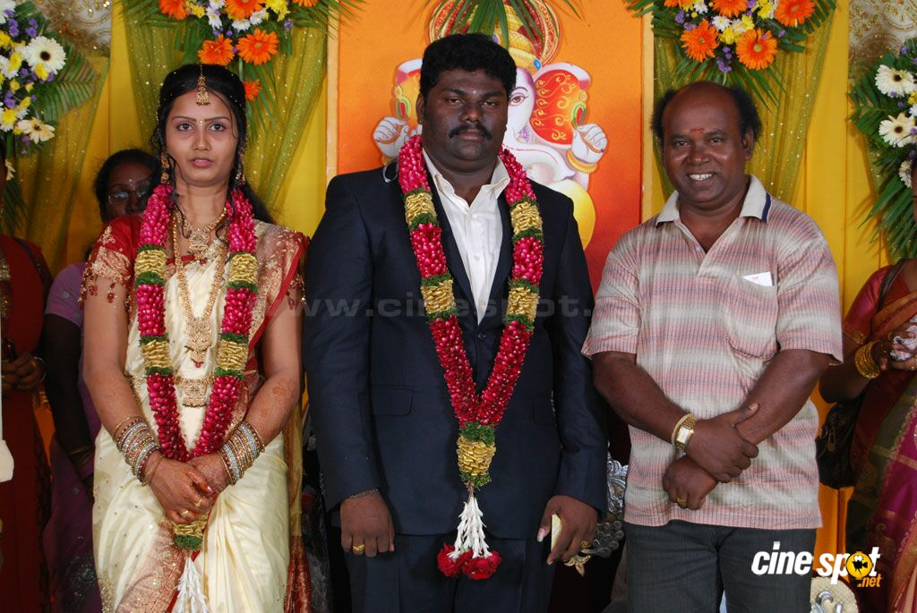 Kottai Perumal Son Wedding Reception Stills (15)