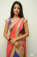 Bhavya Sri Hot Saree Stills (24)