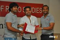 Actor Shiva at Academy of Radio Studies 1st Convocation Photos
