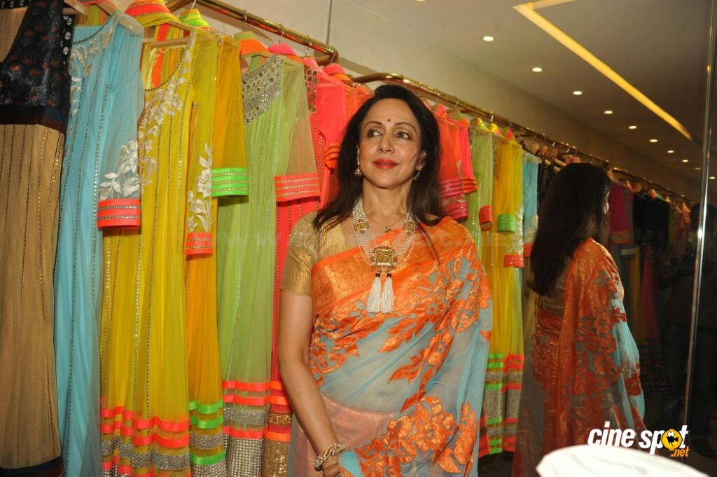 Hema Malini Latest Saree Photos (3)
