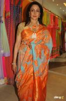 Hema Malini New Saree Stills (3)