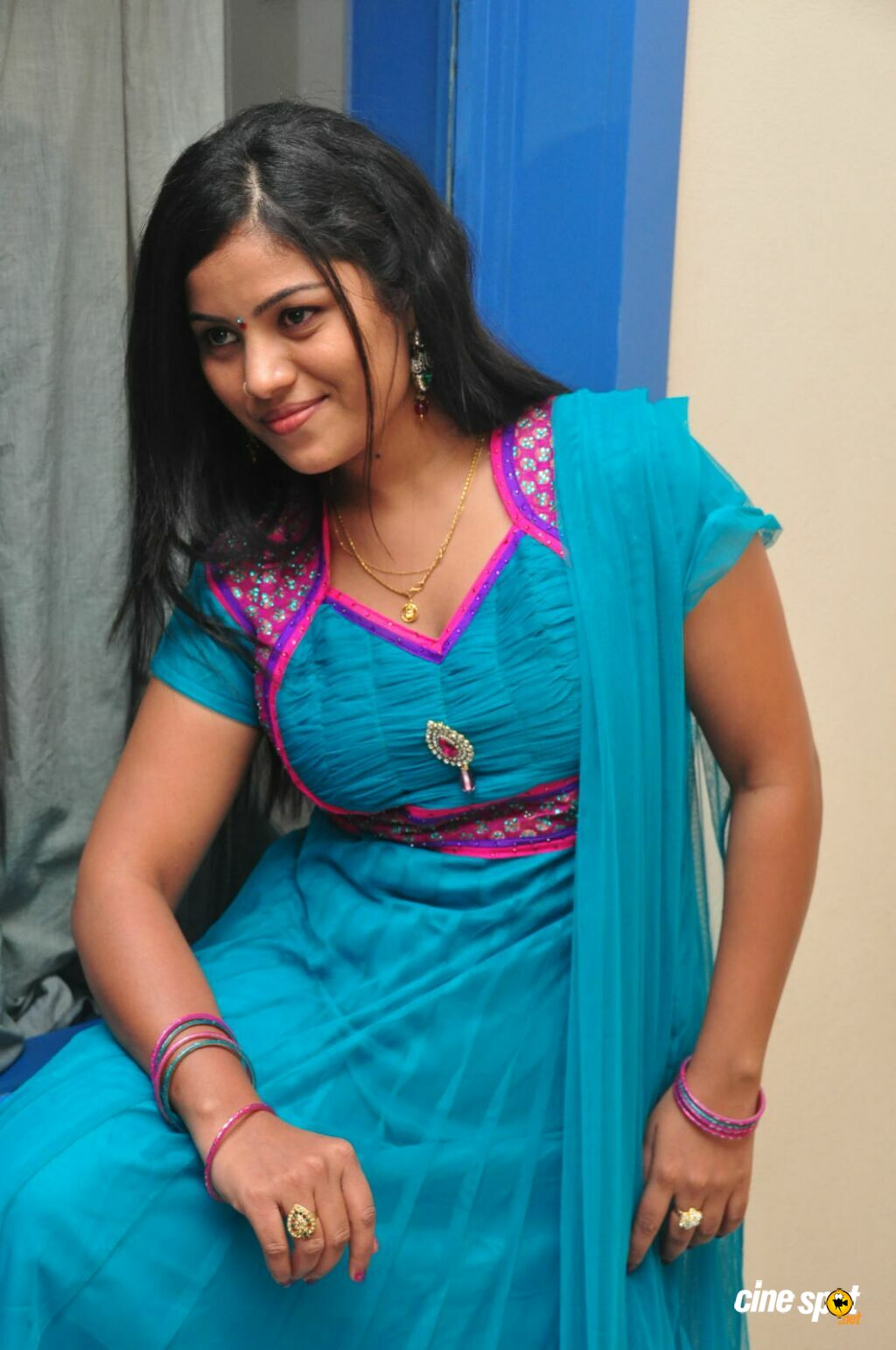 Alekhya at Gulabi Audio Launch (56)