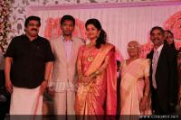 Meera Jasmine wedding  reception photos  (10)