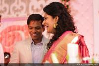 Meera Jasmine wedding  reception photos  (12)