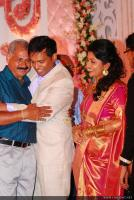 Meera Jasmine wedding  reception photos  (48)