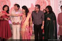 Meera Jasmine wedding  reception photos  (53)