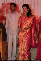 Meera Jasmine wedding  reception photos  (6)