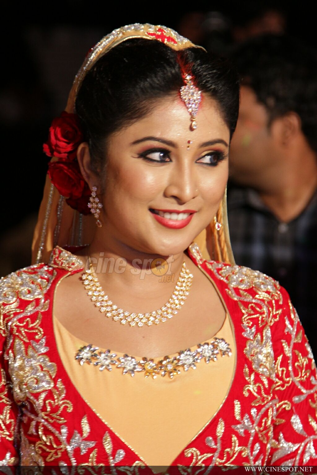 archana suseelan marriage reception photos 150