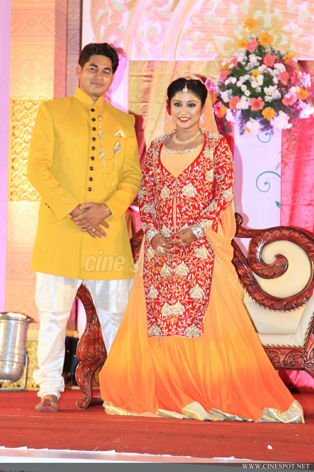 archana suseelan marriage reception photos 175