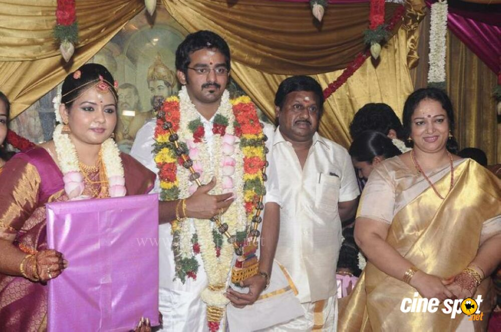 Ramarajan And Nalini Son Wedding Stills 15
