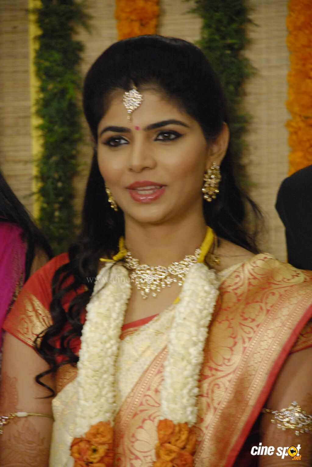 Chinmayi Rahul Ravindran Wedding Reception Stills 3