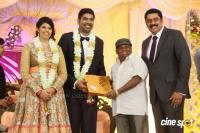 Ajay Ratnam Son Wedding Reception Photos