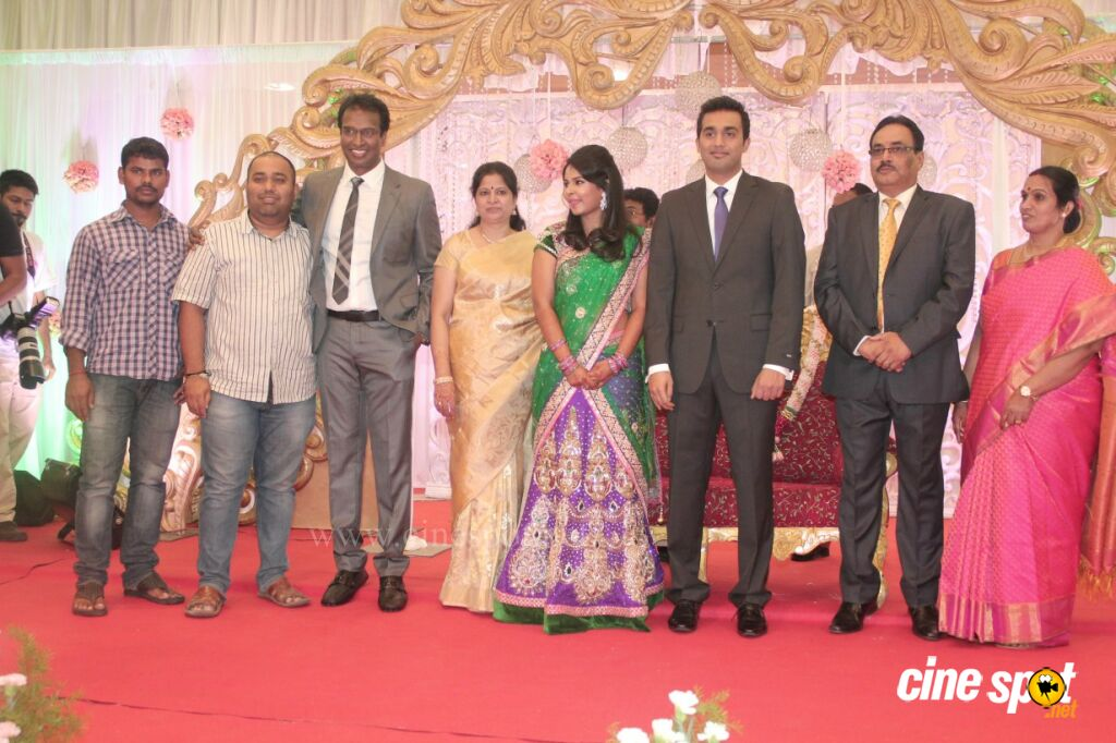 Arun Pandian's Daughter Wedding Reception Stills (18)