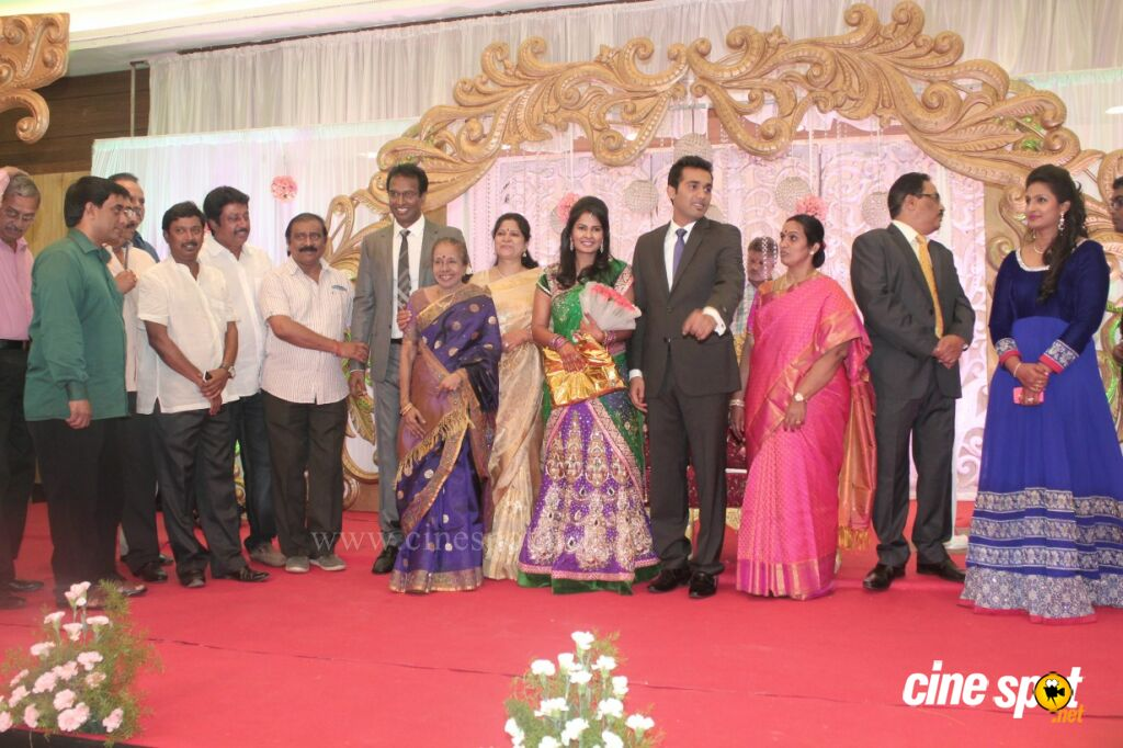 Arun Pandian's Daughter Wedding Reception Stills (33)