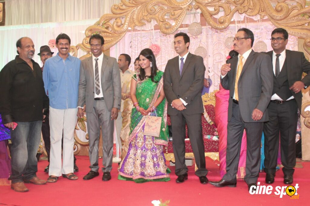 Arun Pandian's Daughter Wedding Reception Stills (52)