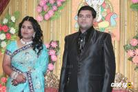 Producer V Swaminathan Son Wedding Reception Photos