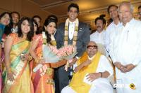 Palam Silks Owner Daughter Reception Photos