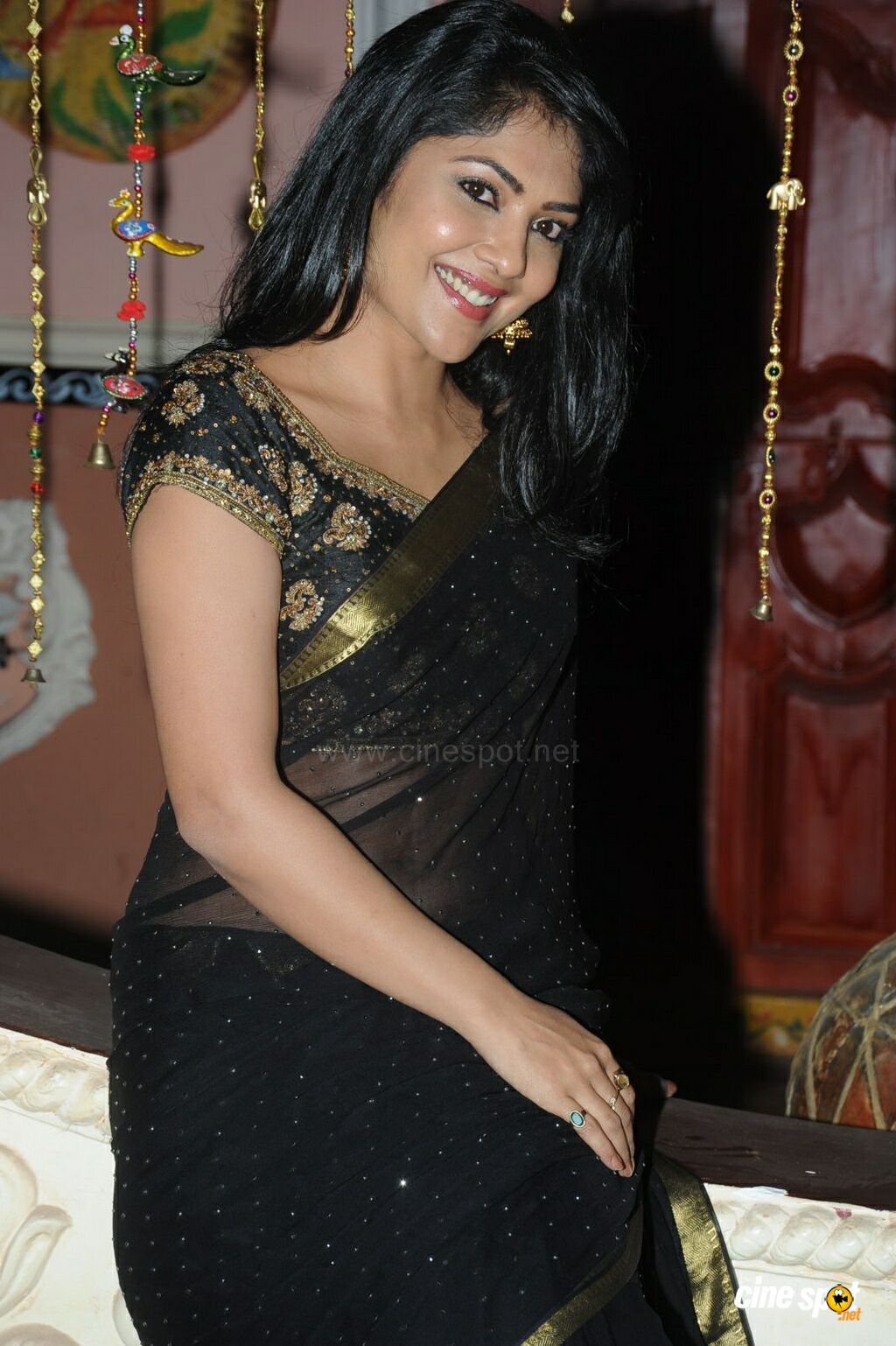Kamalinee at Govindudu Andarivadele Trailer Launch (18)