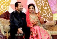 Fahad Fazil - Nazriya nazim wedding reception photos