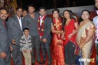 Vishwas and Spoorthi Wedding Reception Photos