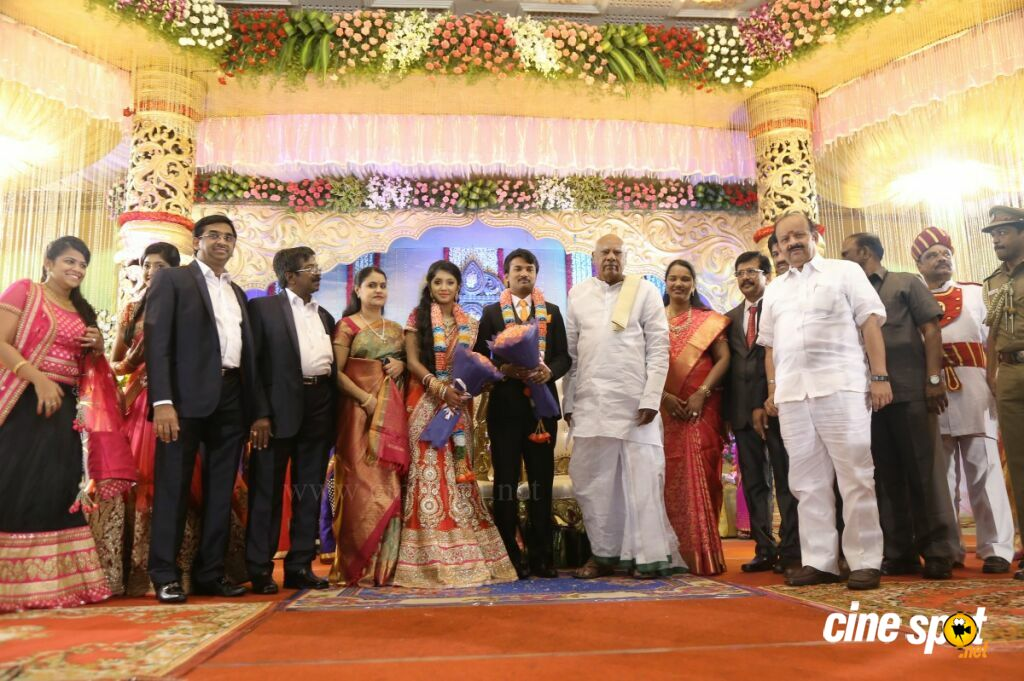 Raj TV MD Daughter Marriage Reception (24)