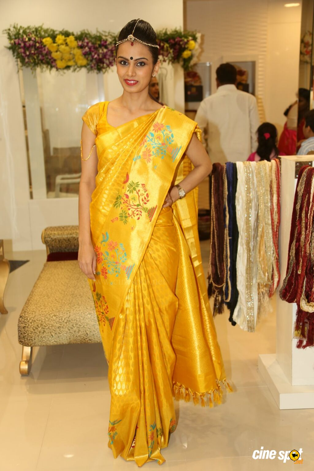 Natasha at Sri Krishna Silks Launch (4)