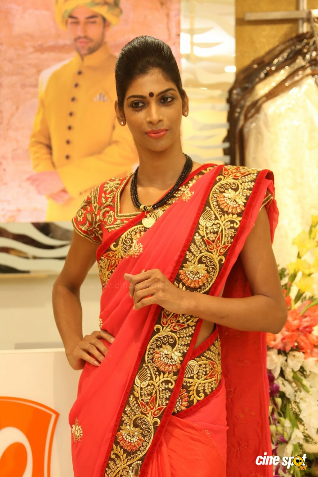 Sravanthi at Sri Krishna Silks Launch (1)