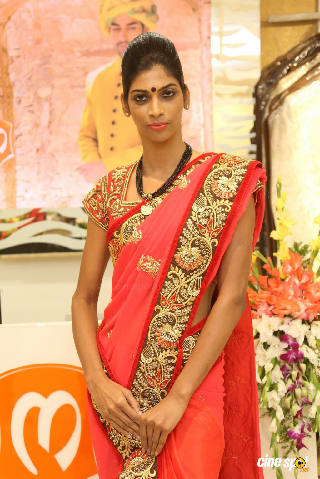 Sravanthi at Sri Krishna Silks Launch (6)