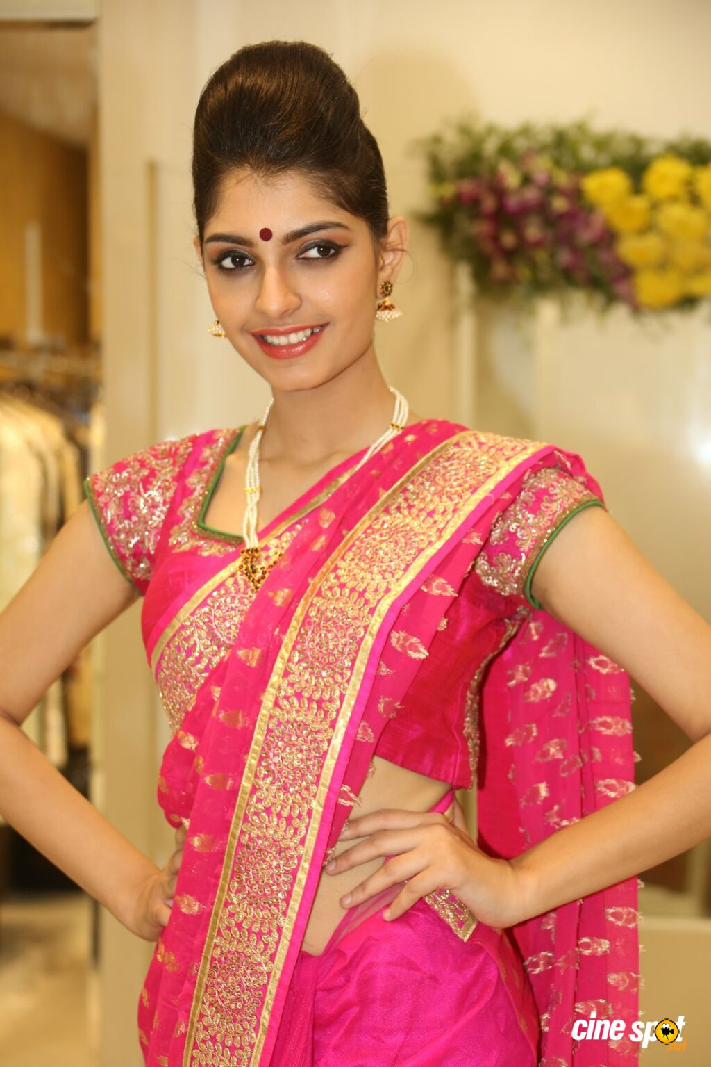Ashna Misra at Sri Krishna Silks Launch (13)