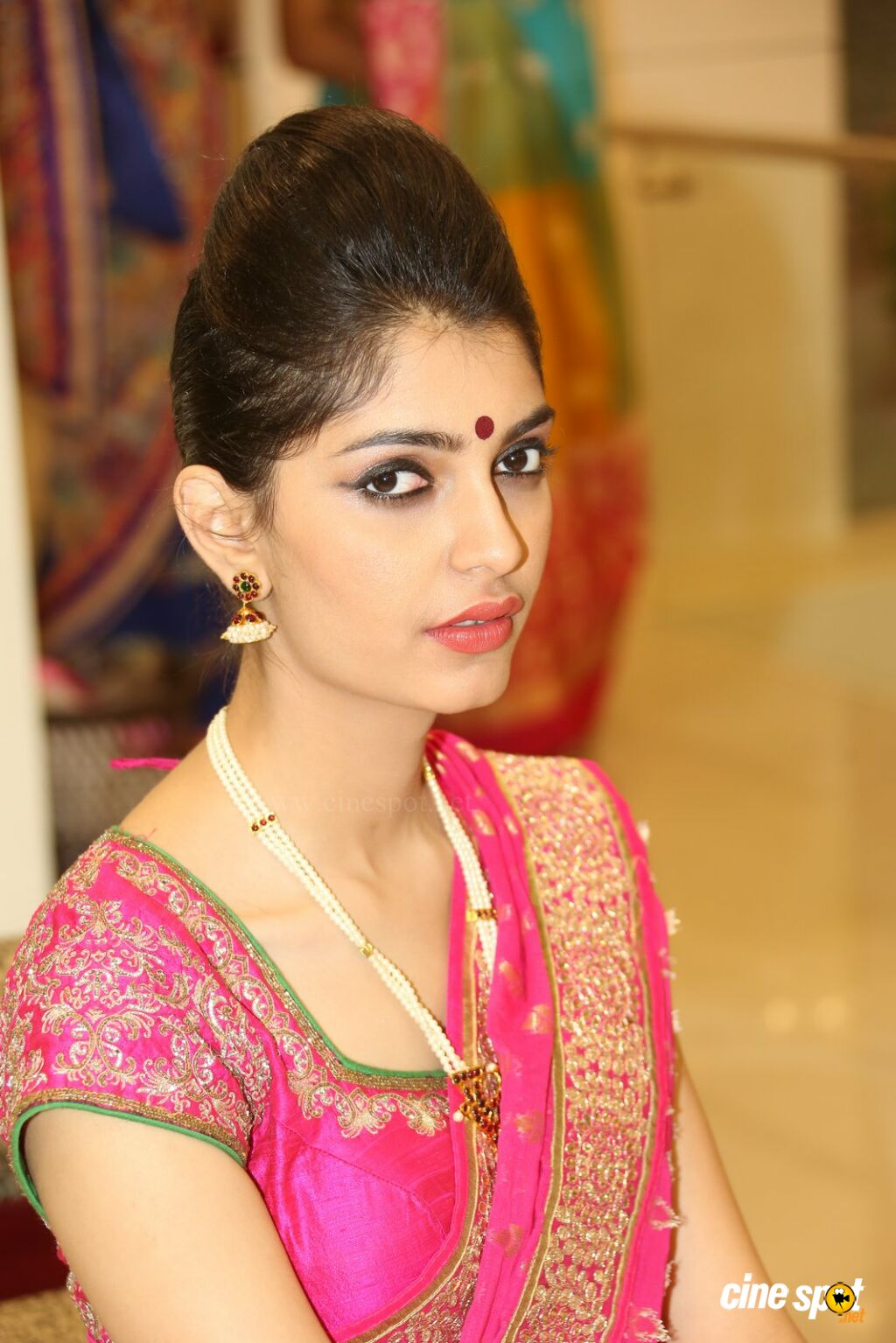Ashna Misra at Sri Krishna Silks Launch (23)
