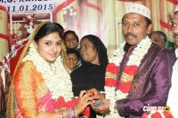Actress Monica (M. G. Rahima) Marriage photos