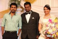 Music Director Simon Wedding Reception Photos