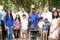 Bhaskar The Rascal Movie Pooja Photos