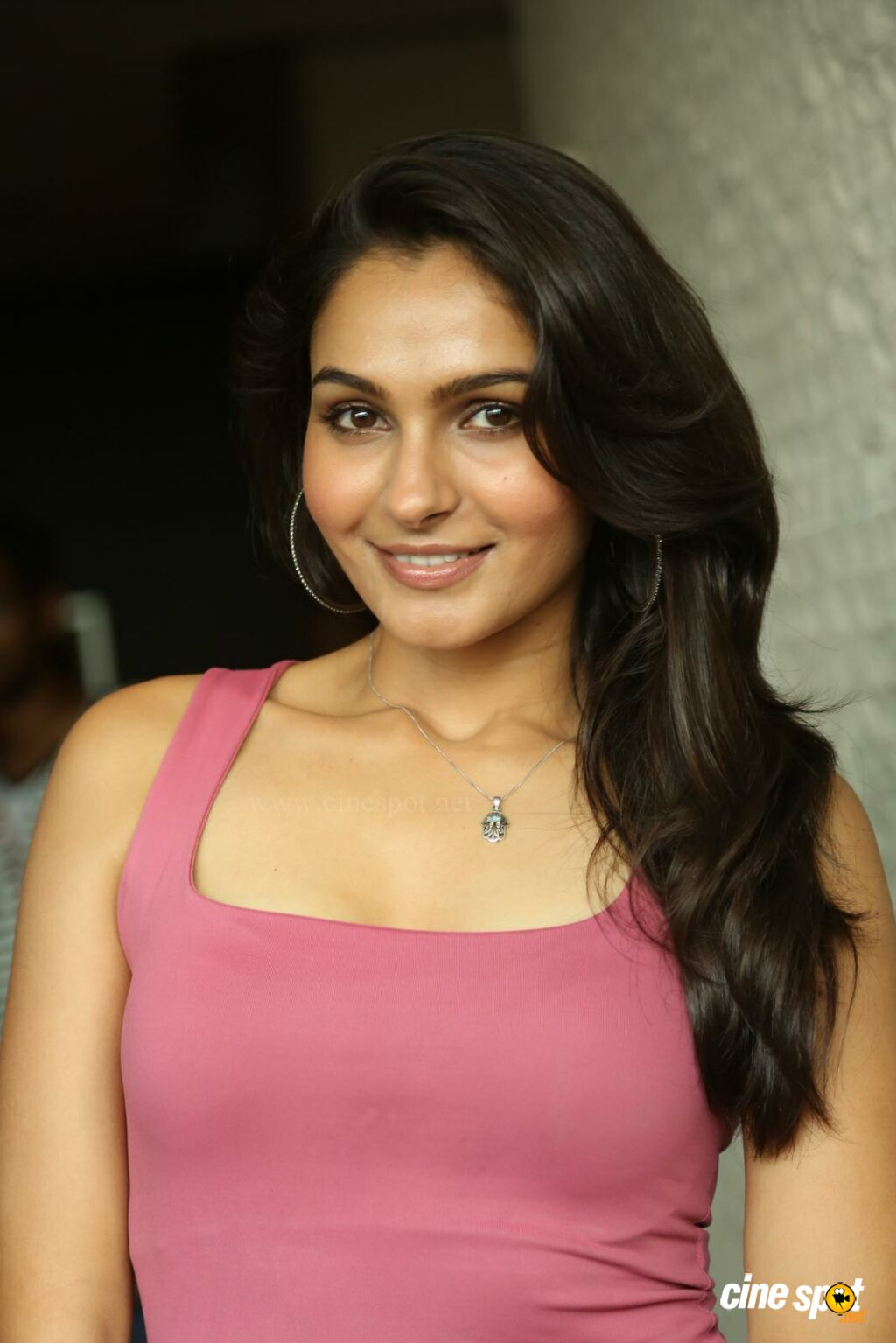 Andrea Jeremiah at Uttama Villain Movie Release PM (26)