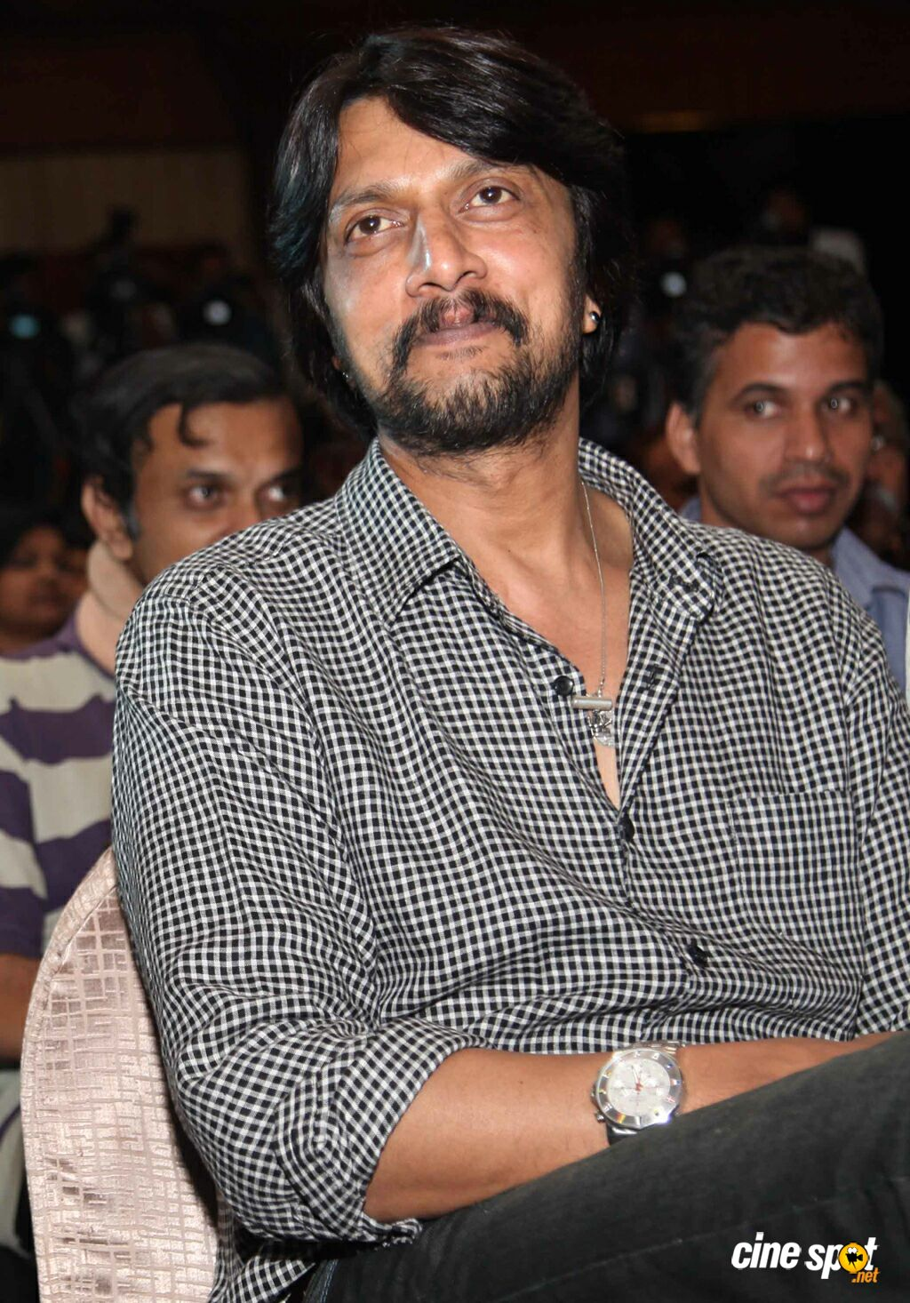 Sudeep at Ranna Press Meet (2)