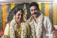 Actor Harish Abinaya Marriage Photos
