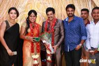 Actor Vidharth - Gayathri Devi Marriage Reception Photos
