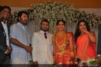 Mammootty at Muktha Marriage reception pics (1)