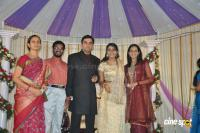 Actress Navya Nair Marriage Wedding reception Photos (31)